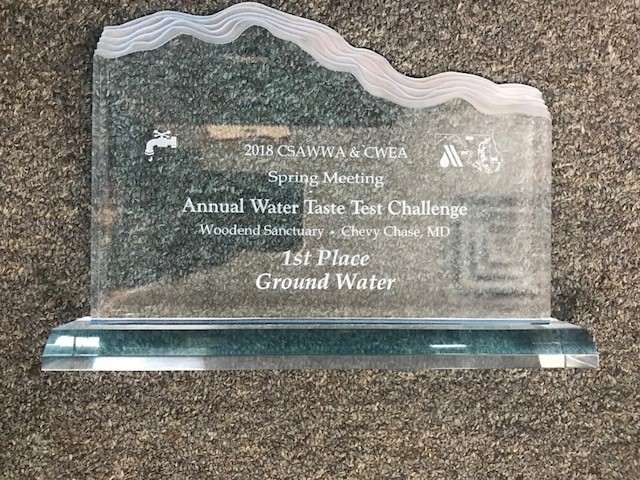 2018 Annual Water Test Challenge Award