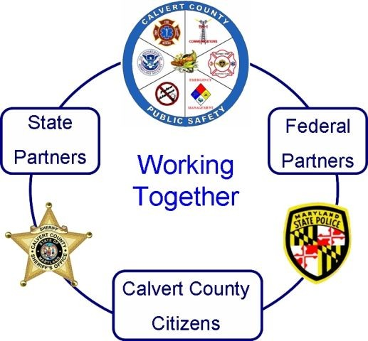 Working together federal state and calvert citizens partnering