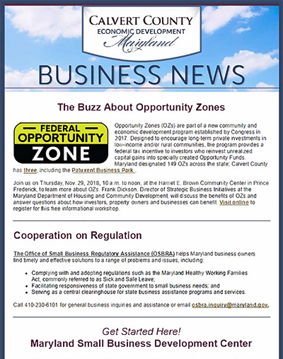 Business eNewsletter