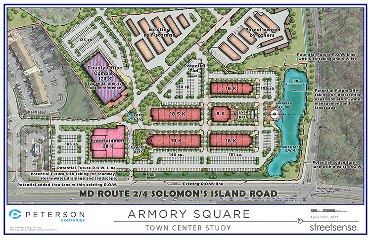 concept plan for armory square
