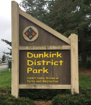 Dunkirk District Park Sign