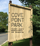 Cove Point Park Sign