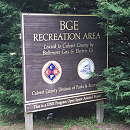 BGE Recreation Area Sign