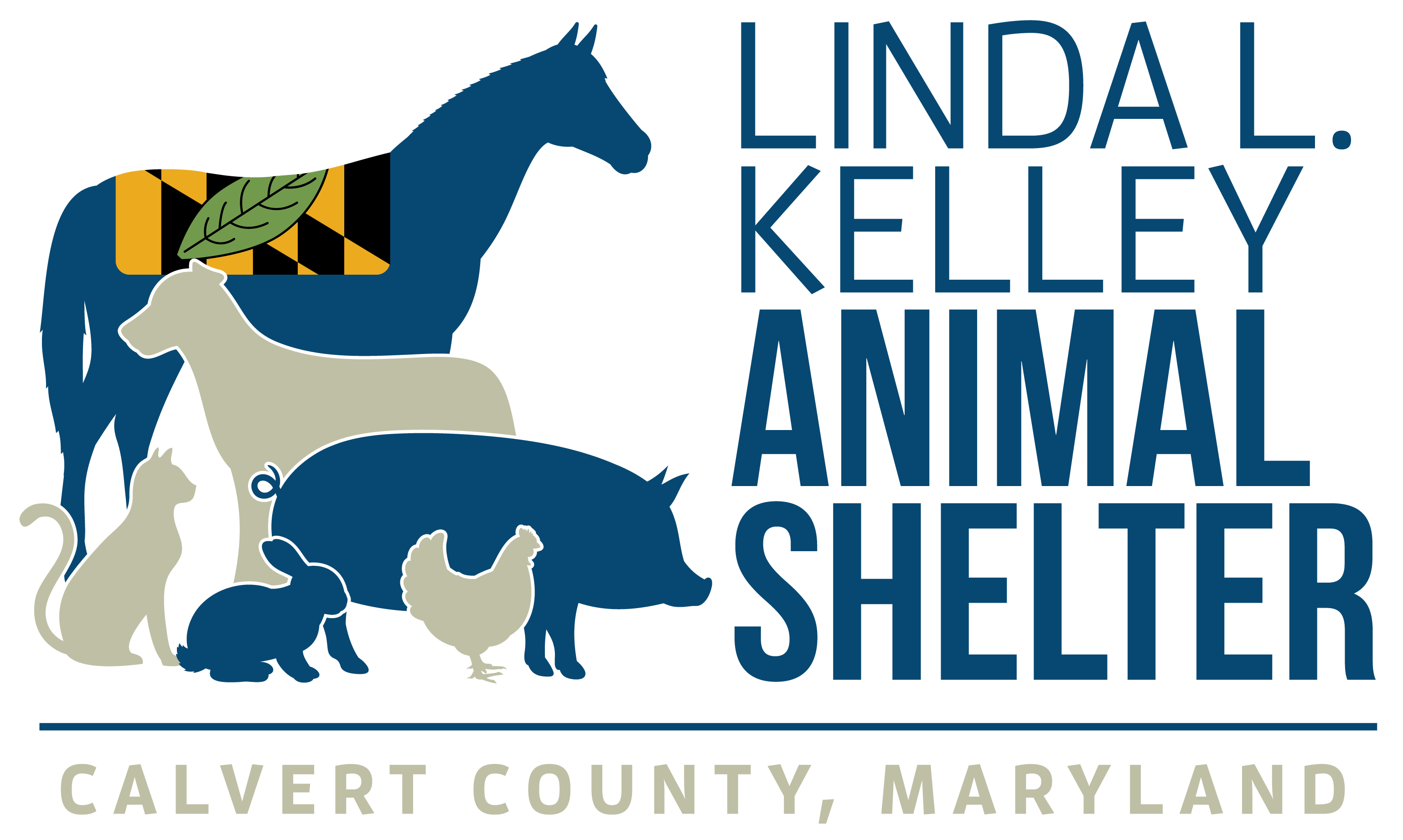 Calvert County Linda L Kelley Animal Shelter Logo Opens in new window