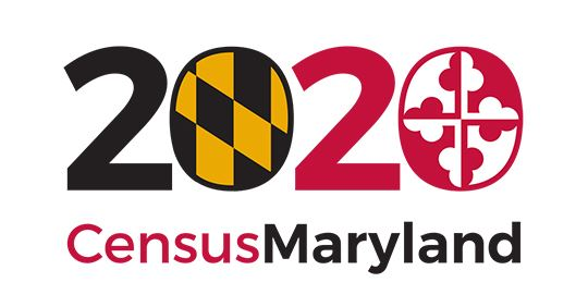 2020 Census Maryland logo