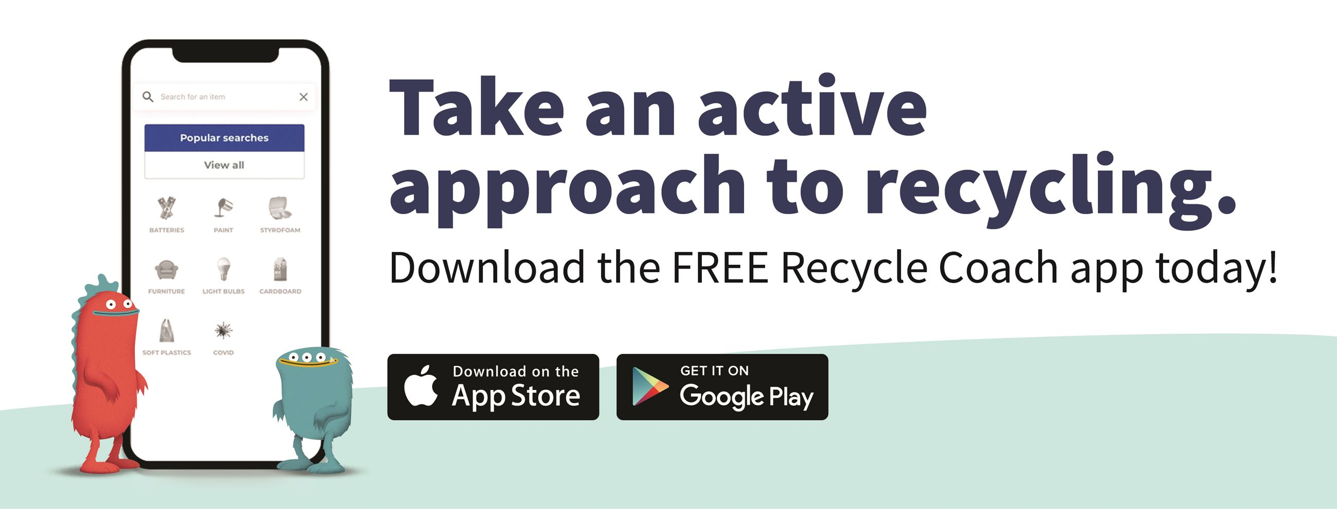 Recycle Coach Available in your app store