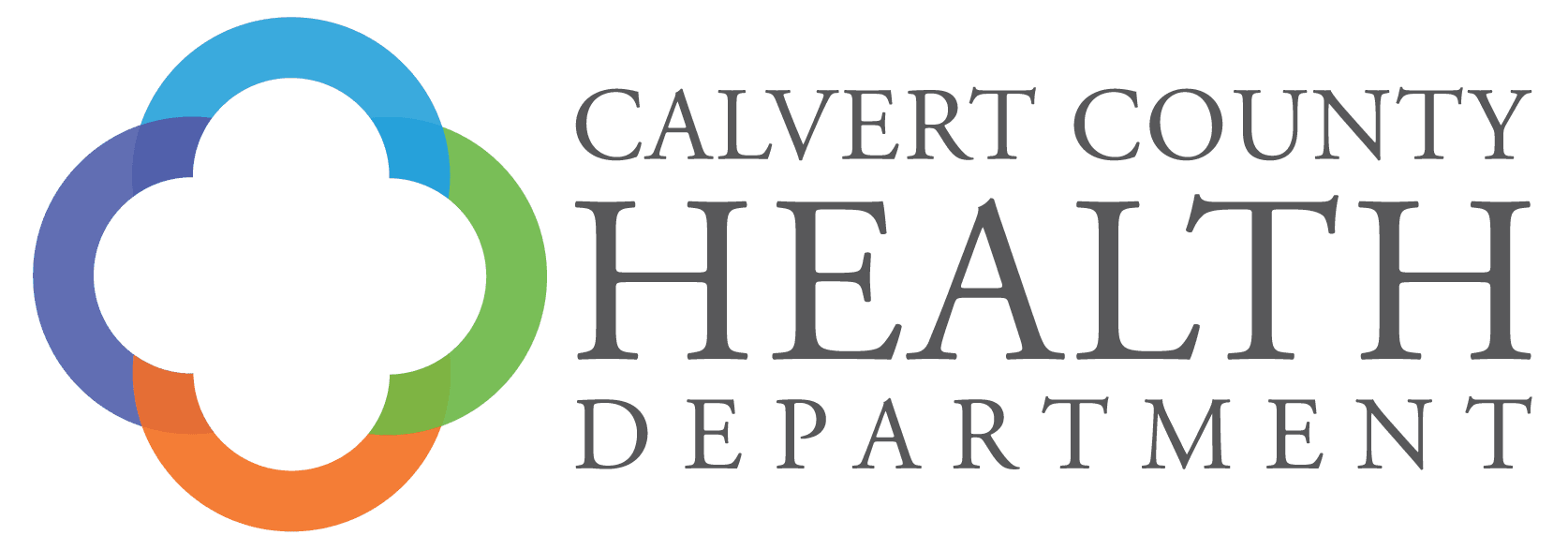 Calvert country health department logo
