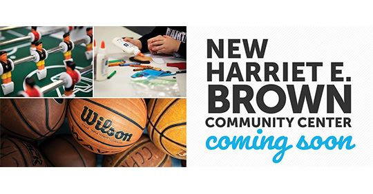 New Harriet E. Brown Community Center coming soon