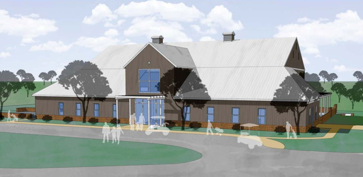 Chesapeake Hills Clubhouse Renovation Drawing
