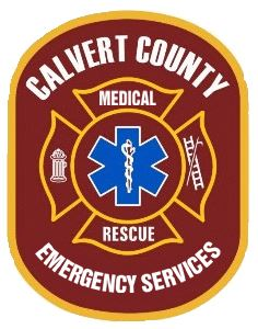 Calvert County Emergency Services Patch