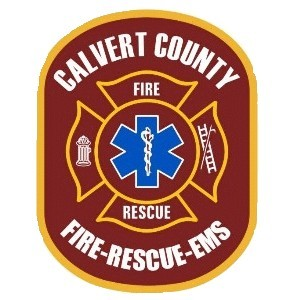 calvert county fire, rescue and emergency services logo