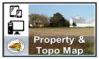 Property and Topo Map Image